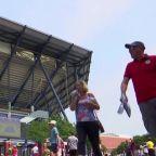 US Open venue turned into hospital as coronavirus toll rises
