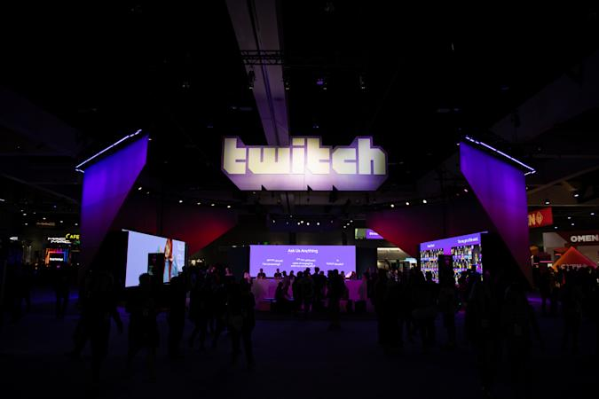 SAN DIEGO, CA - SEPTEMBER 29: Entrance at TwitchCon at San Diego Convention Center on September 29, 2019 in San Diego, California. (Photo by Martin Garcia/ESPAT Media/Getty Images)