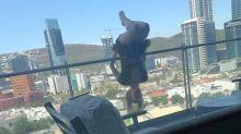 Woman falls off balcony, breaks 110 bones in 'extreme yoga' pose