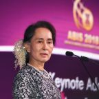 Myanmar's Suu Kyi courts investment for strife-torn Rakhine state