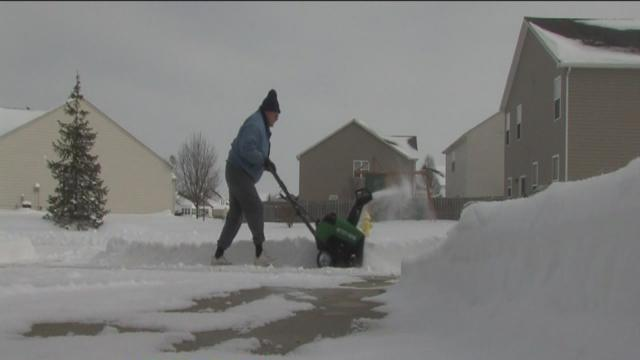 Snow blowers in short supply