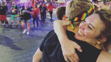 'I miss this': Texas church went to the Austin Pride Parade to give free hugs from moms, dads, grandparents, and pastor