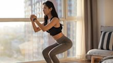 This 30-min strength & stretch workout will help you build a better squat