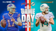 Bills at Dolphins: Game day inactives
