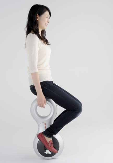 Honda's U3-X Personal Mobility Device is the Segway of unicycles