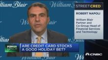 Credit card stocks outperform as shoppers flock online