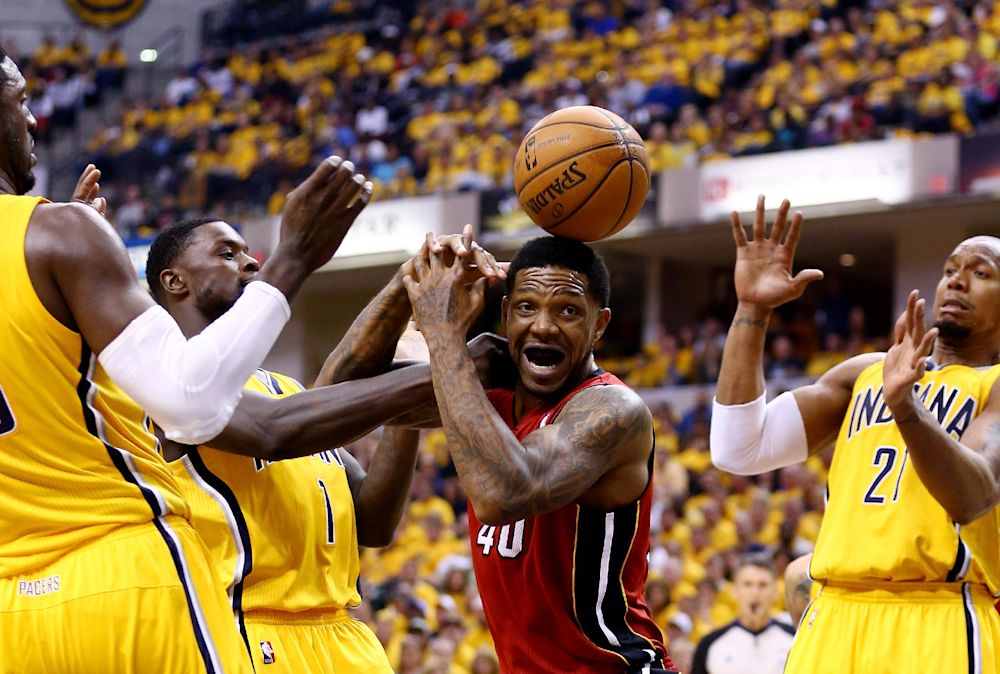 Heat to start Haslem in Game 2 vs. Pacers