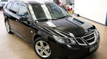 This Diesel 9-3 estate is probably the last new Saab for sale