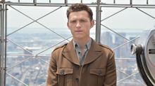 Tom Holland threatens autograph hunters who were crushing girl 'having panic attack'