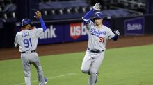 Pederson homers twice to lead Dodgers over Padres, 7-6