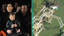 Kanye West & Kim Kardashian Build Palatial Playground for Daughter North