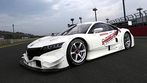 Honda teases upcoming NSX with Concept-GT hybrid race car