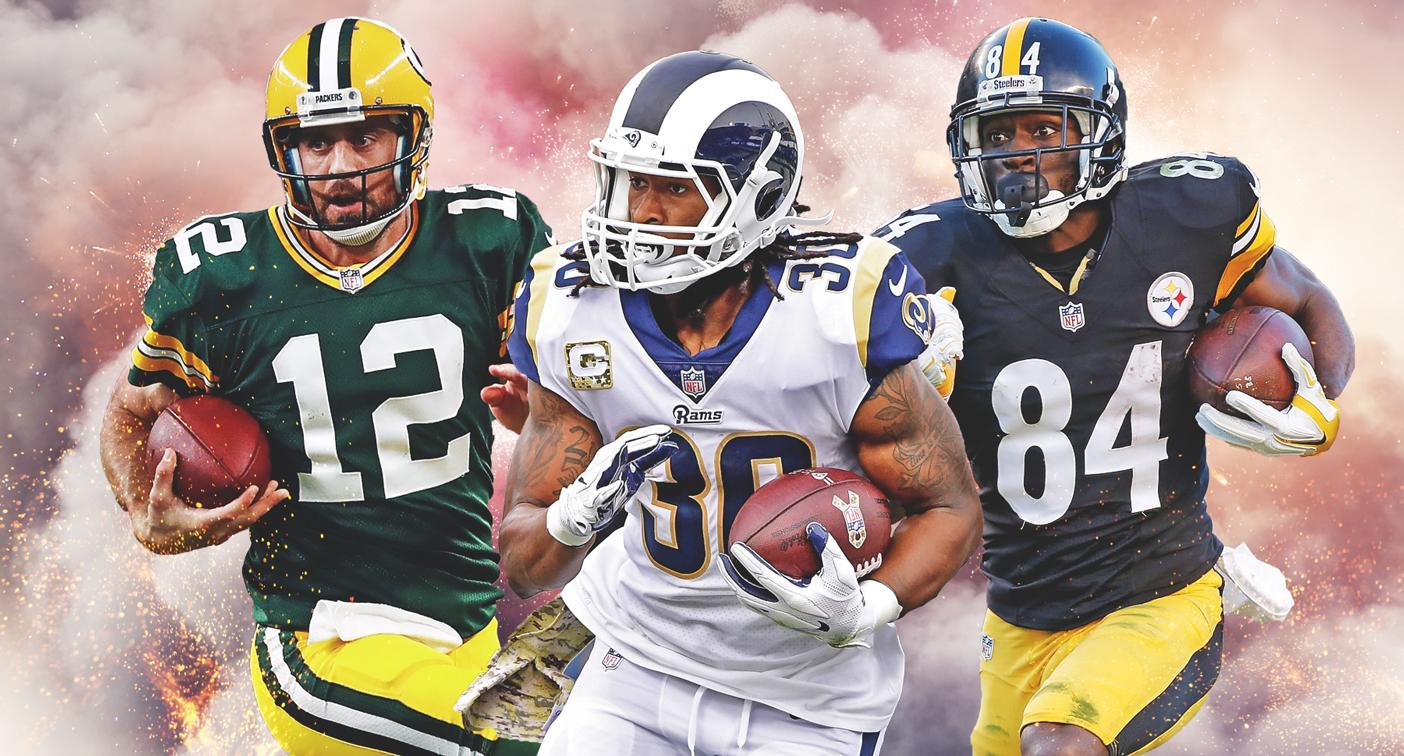 2018 top Fantasy Football picks: NFL star Todd Gurley No  1