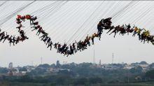 Record-breaking bridge jump performed in Brazil