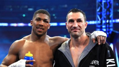 Anthony Joshua vs Wladimir Klitschko rematch a possibility with Brit happy to step into the ring again