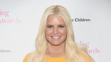 Jessica Simpson proudly shares photo of her ankles following the birth of daughter Birdie