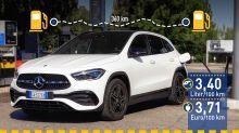Tatsächlicher Verbrauch: Mercedes GLA 200 d 4Matic im Test
