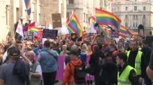 More than 2,000 attend Sarajevo's first Gay Pride march