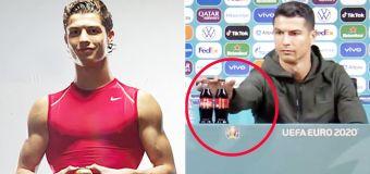 'Awkward' photos emerge after $5.2b Ronaldo act