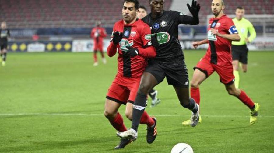 Foot - L1 - Dijon - Dijon : Wesley Lautoa sanctionné et écarté contre le PSG