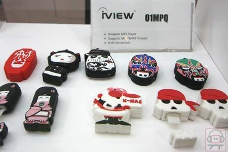 iView shows off novelty MP3 players aplenty