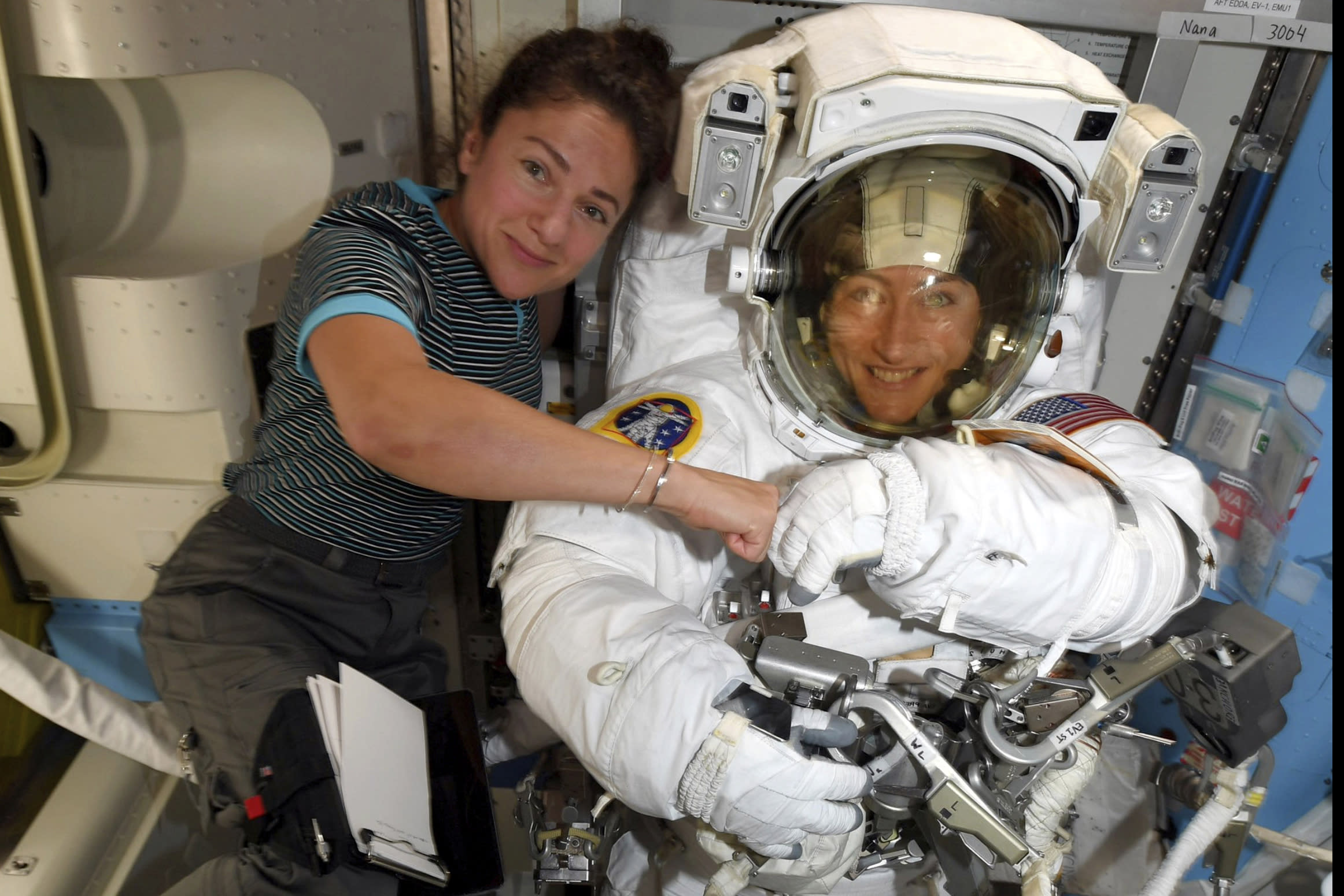 ME  astronaut Jessica Meir will take her 1st spacewalk Wednesday