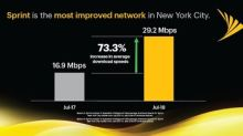 Sprint is Most Improved Network in the Big Apple and Faster than AT&T