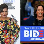 Mindy Kaling is 'filled with hope' over Kamala Harris becoming Joe Biden's running mate