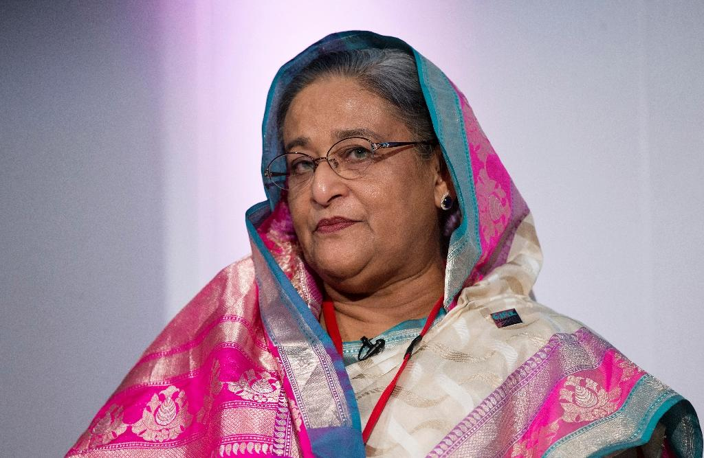 Bangladesh's Prime Minister Sheikh Hasina has issued a new call for Myanmar to take back the some 420,000 Rohingya Muslims who have fled violence in the Buddhist-dominated country (AFP Photo/OLI SCARFF)