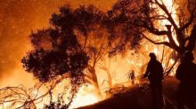 California wildfire rages toward scenic coastal communities