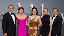 Michelle Dockery leads best dressed at star-studded Downton Abbey premiere