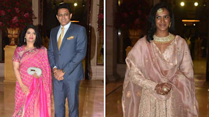 Kumble, Sindhu, Gopichand Attend Deepika & Ranveer's Reception