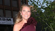 Gwyneth Paltrow looks like a smitten schoolgirl in photo she shares from engagement party