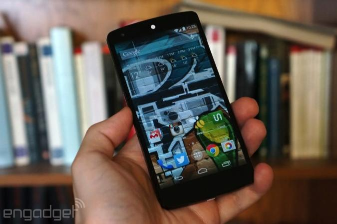 IRL: Choosing the Nexus 5 over the Moto X (and the Galaxy Note, too)