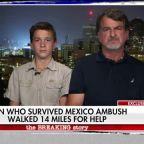 Teen who survived deadly Mexico ambush speaks out