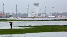 As Asia's Tropical Storm Season Arrives, Grounded Airplanes at Risk of Damage