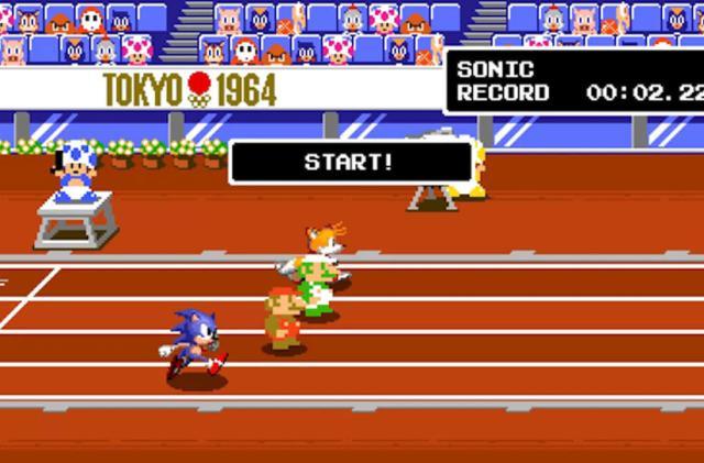 The next 'Mario & Sonic Olympics' game has a retro 2D mode