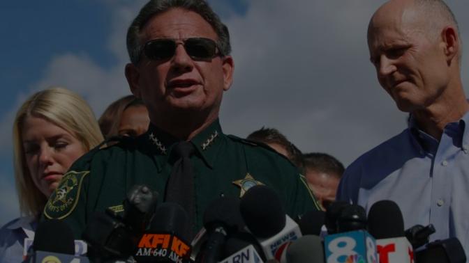 Agente armado no enfrentó al agresor de Florida