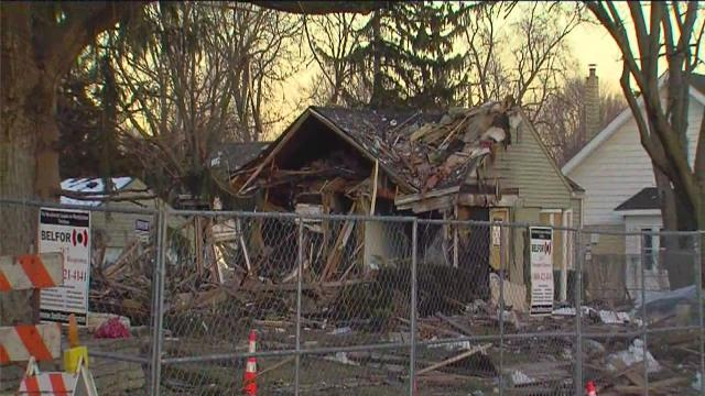 Consumers Energy gas crews check on neighbors near site of Royal Oak explosion