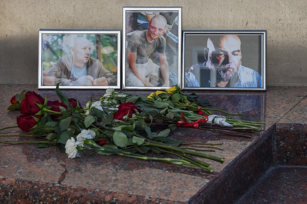 The Russian foreign ministry said that Alexander Rastorguyev, Kirill Radchenko and Orkhan Dzhemal, the journalists who were recently killed in the Central African Republic, died in a robbery