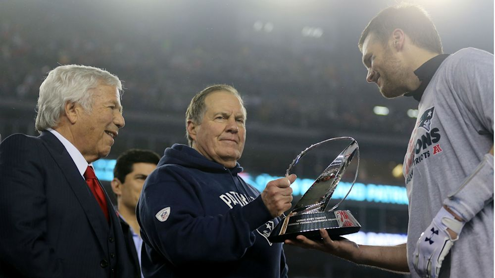 Patriots Robert Kraft says Bill Belichick 'absolutely' will be back, denies mandating Jimmy Garoppolo trade