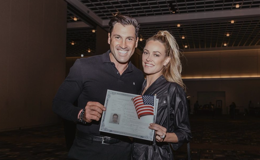 'DWTS' pro Peta Murgatroyd sworn in as American citizen: 'Thank you USA for accepting me'