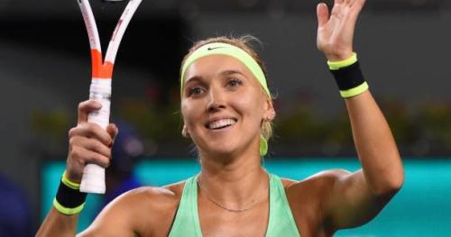 Tennis - WTA - Indian Wells - Elena Vesnina sort Venus Williams en quart de finale à Indian Wells et retrouvera Kristina Mladenovic
