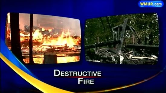 Local baseball players react after fire