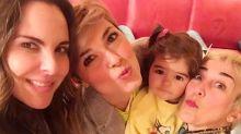 Kate del Castillo se reencuentra con actriz con quien se besó en la Reina del Sur