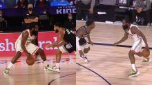 NBA/變態運球!大鬍子戲耍對位者