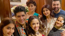 Manish Malhotra hosts a Diwali party for his B'wood friends