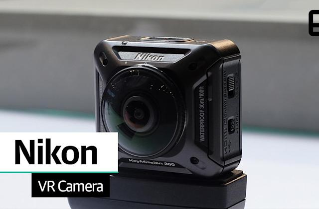 A first look at Nikon's KeyMission 360 VR action camera