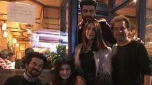 Mubarakan cast Anil Kapoor, Arjun, Ileana and Athiya pose in London