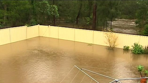 Flood evacuations as wild weather continues